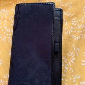 Coach Bags - Black Coach Wallet Brand New with Tags